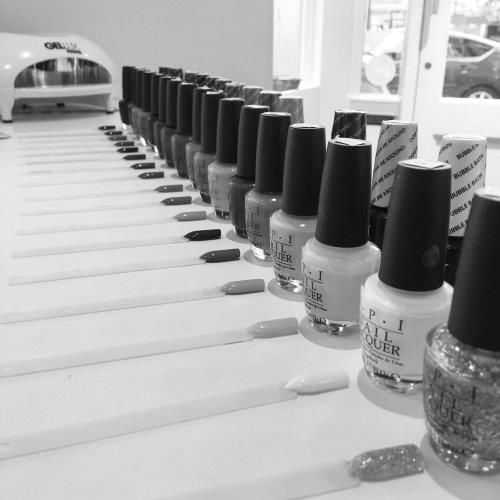 Nail laquers at Ben Forrest Your Hairdresser