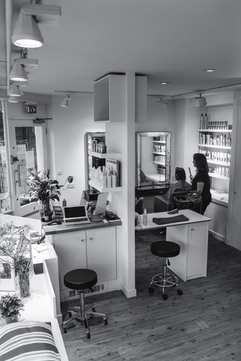 Hair salons Richmond upon thames Inside the salon