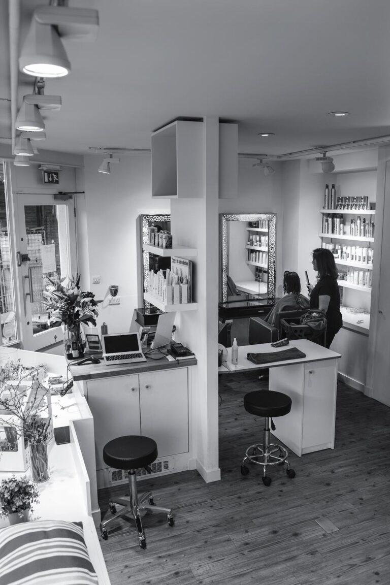 Hair salons Richmond upon thames Inside the salon