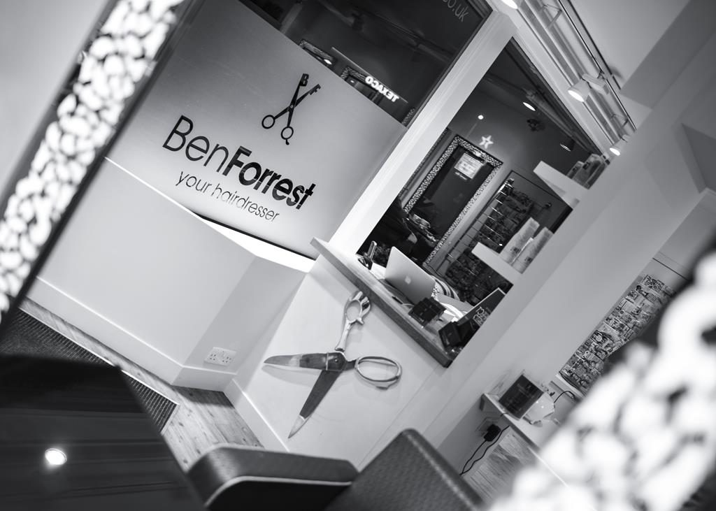 Ben Forrest Salon in Kingston on Thames Surrey