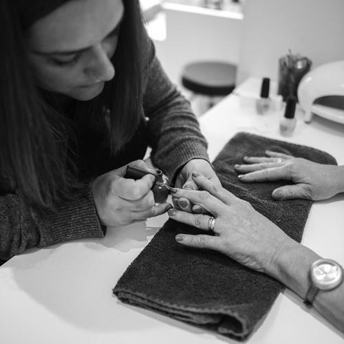 Nail technician at Ben Forrest Your Hairdresser